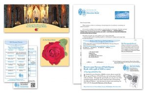 Miraculous Medal insert mail