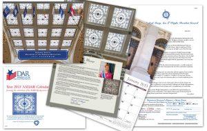 2013 NSDAR Calendar promotional material