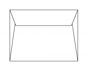 A-style mailer envelope