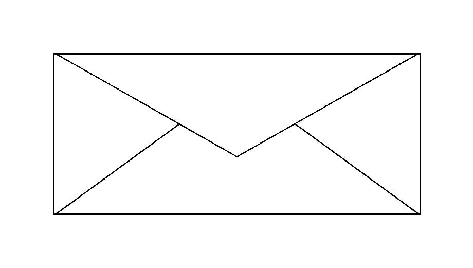 standard business envelope