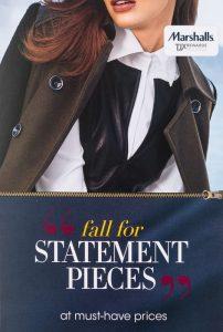 Marshalls TJX fall digital print campaign