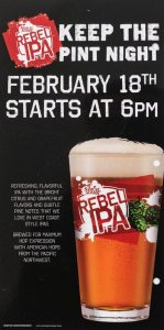 Samuel Adams Rebel IPA event