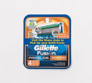 Gillette Fusion large format printing