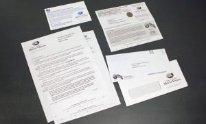 Mount Vernon direct mail package