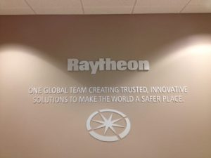 Large format printed business signage