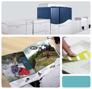 large format printing process