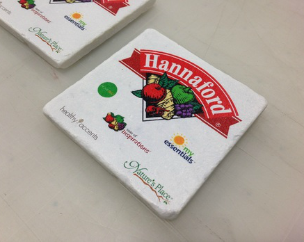 Hannaford digital printing project