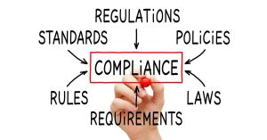 Compliance Flow Chart Concept